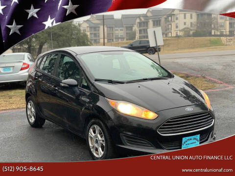 2014 Ford Fiesta for sale at Central Union Auto Finance LLC in Austin TX
