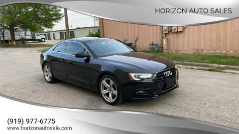 2014 Audi A5 for sale at Horizon Auto Sales in Raleigh NC