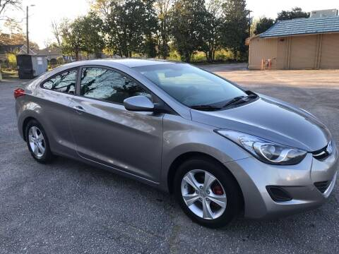 2013 Hyundai Elantra Coupe for sale at Cherry Motors in Greenville SC