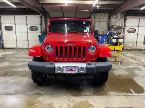 2011 Jeep Wrangler Unlimited for sale at Sonias Auto Sales in Worcester MA