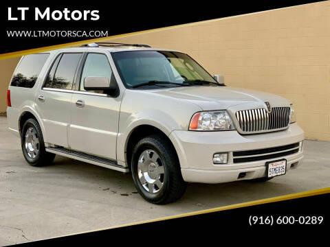 2006 Lincoln Navigator for sale at LT Motors in Rancho Cordova CA