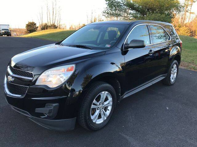2012 Chevrolet Equinox for sale at SEIZED LUXURY VEHICLES LLC in Sterling VA