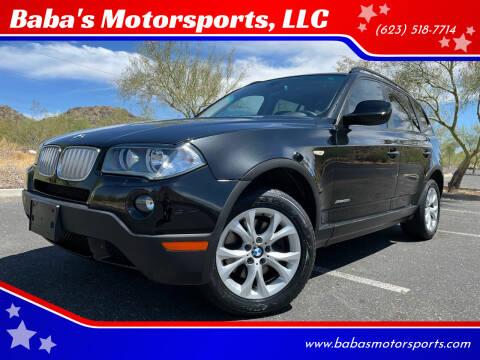 2010 BMW X3 for sale at Baba's Motorsports, LLC in Phoenix AZ