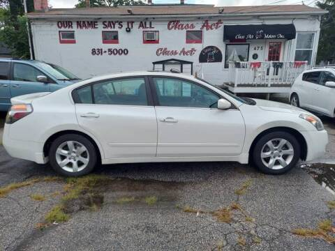 2009 Nissan Altima for sale at Class Act Motors Inc in Providence RI