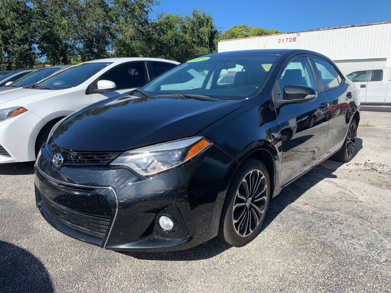 2015 Toyota Corolla for sale at Bargain Auto Sales in West Palm Beach FL