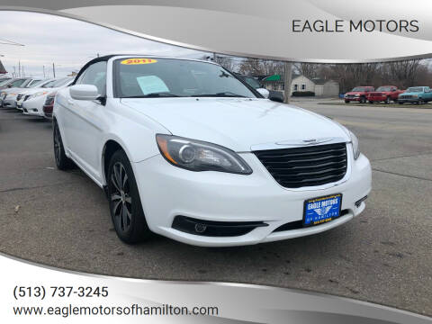 2011 Chrysler 200 Convertible for sale at Eagle Motors in Hamilton OH