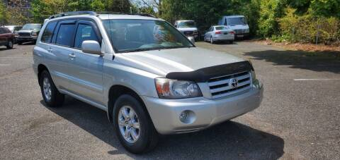 2007 Toyota Highlander for sale at Moor's Automotive in Hackettstown NJ