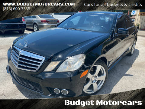 2010 Mercedes-Benz E-Class for sale at Budget Motorcars in Tampa FL