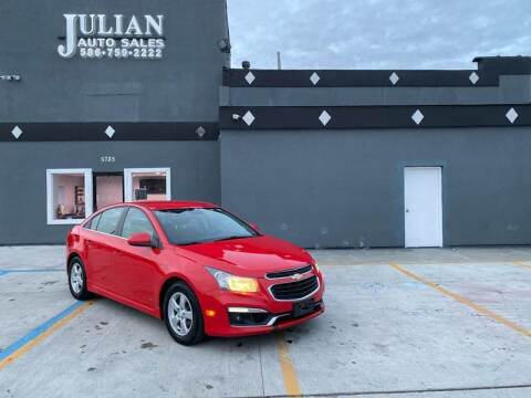 2016 Chevrolet Cruze Limited for sale at Julian Auto Sales, Inc. in Warren MI