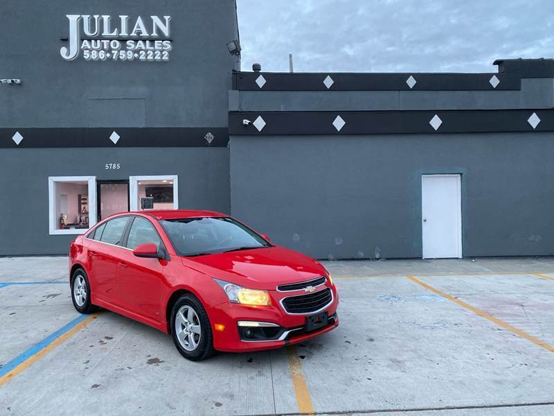 2016 Chevrolet Cruze Limited for sale at Julian Auto Sales, Inc. in Warren MI