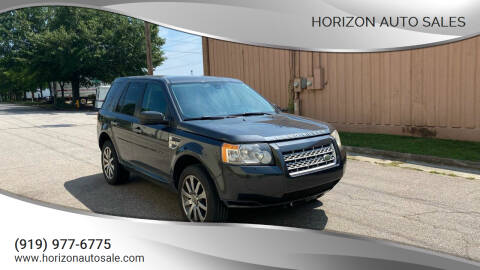 2009 Land Rover LR2 for sale at Horizon Auto Sales in Raleigh NC