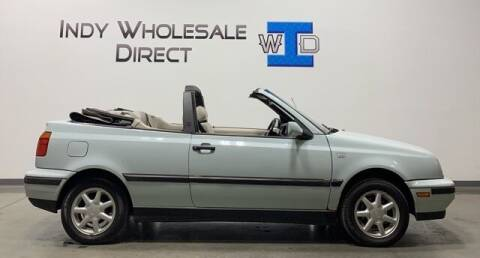 1995 Volkswagen Cabrio for sale at Indy Wholesale Direct in Carmel IN