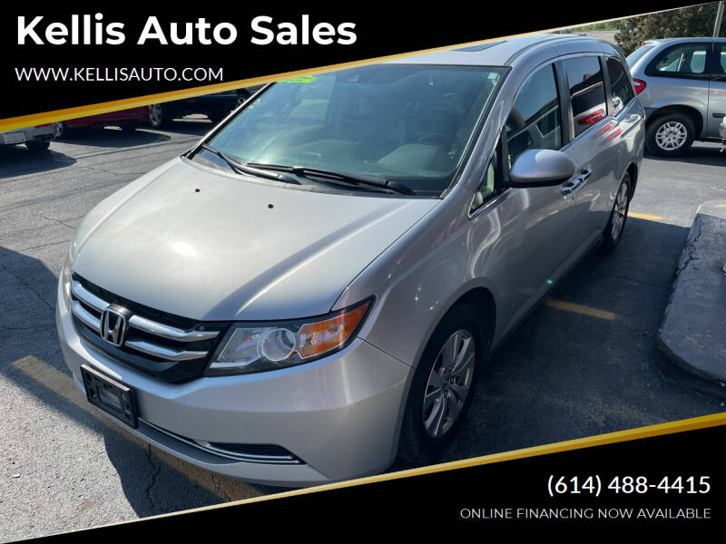 2014 Honda Odyssey for sale at Kellis Auto Sales in Columbus OH