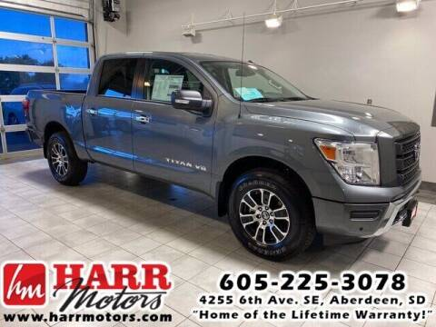 2020 Nissan Titan for sale at Harr's Redfield Ford in Redfield SD