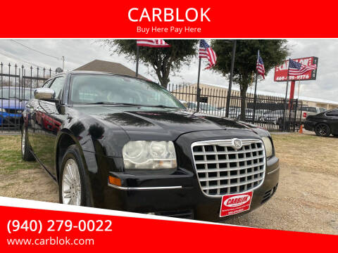 2010 Chrysler 300 for sale at CARBLOK in Lewisville TX