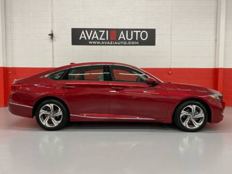 2018 Honda Accord for sale at AVAZI AUTO GROUP LLC in Gaithersburg MD