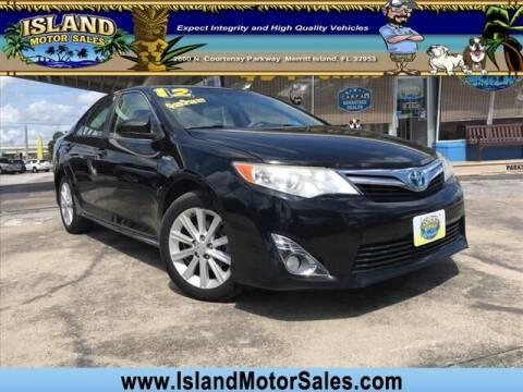 2012 Toyota Camry Hybrid for sale at Island Motor Sales Inc. in Merritt Island FL