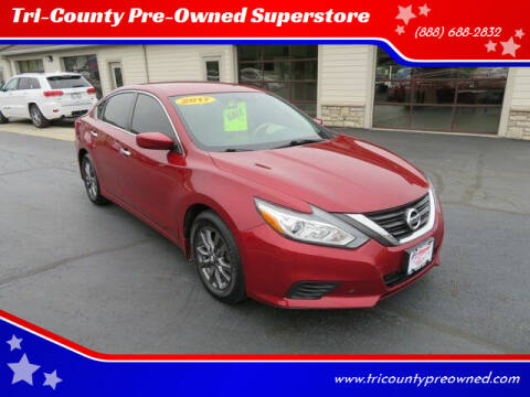 2017 Nissan Altima for sale at Tri-County Pre-Owned Superstore in Reynoldsburg OH