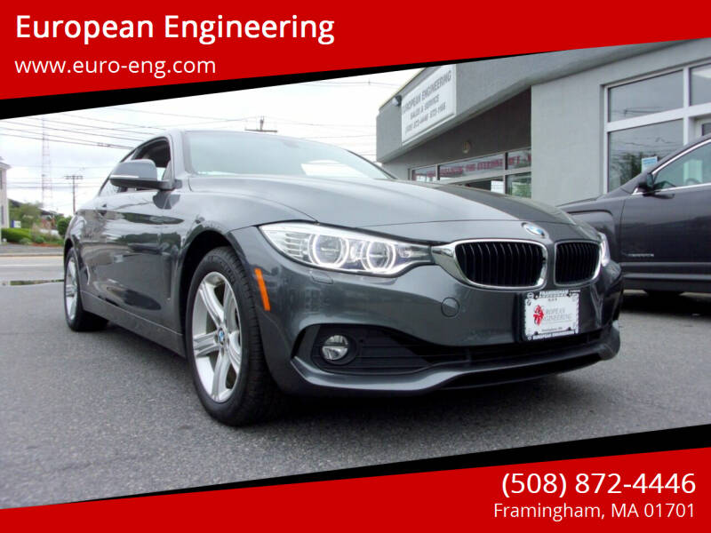 2015 BMW 4 Series for sale at European Engineering in Framingham MA