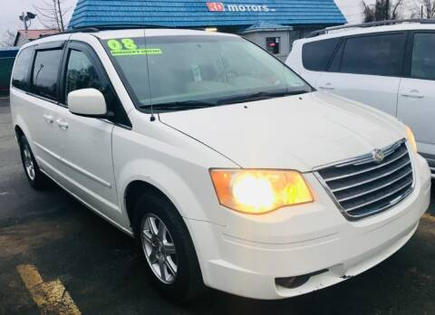 2008 Chrysler Town and Country for sale at RD Motors, Inc in Charlotte NC
