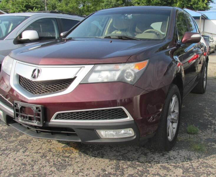 2010 Acura MDX for sale at Express Auto Sales in Lexington KY