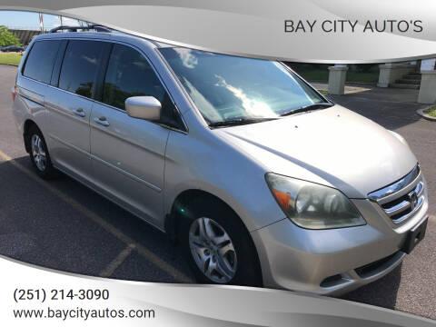 2006 Honda Odyssey for sale at Bay City Auto's in Mobile AL