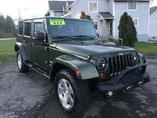 2008 Jeep Wrangler Unlimited for sale at FUSION AUTO SALES in Spencerport NY