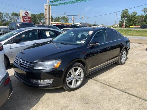 2014 Volkswagen Passat for sale at Direct Auto in D'Iberville MS