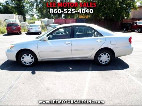 2002 Toyota Camry for sale at Lee Motor Sales Inc. in Hartford CT