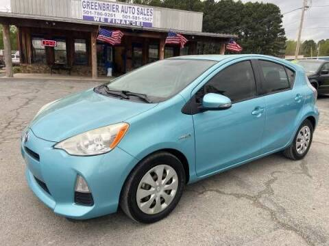 2012 Toyota Prius c for sale at Greenbrier Auto Sales in Greenbrier AR