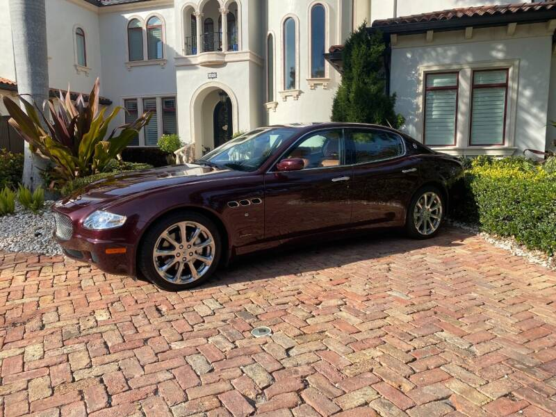 2008 Maserati Quattroporte for sale at Mirabella Motors in Tampa FL