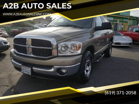 2008 Dodge Ram Pickup 1500 for sale at A2B AUTO SALES in Chula Vista CA