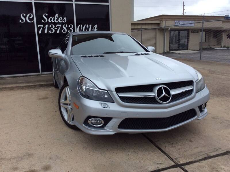 2009 Mercedes-Benz SL-Class for sale at SC SALES INC in Houston TX