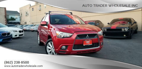 2012 Mitsubishi Outlander Sport for sale at Auto Trader Wholesale Inc in Saddle Brook NJ