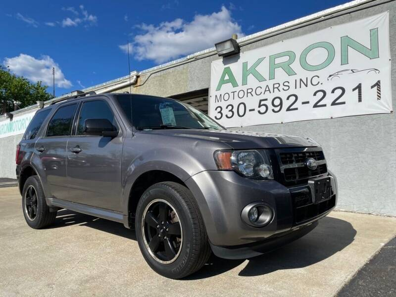 2011 Ford Escape for sale at Akron Motorcars Inc. in Akron OH