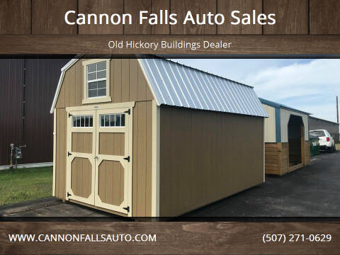 2020 Old Hickory Buildings Lofted Barn 10x16 for sale at Cannon Falls Auto Sales in Cannon Falls MN