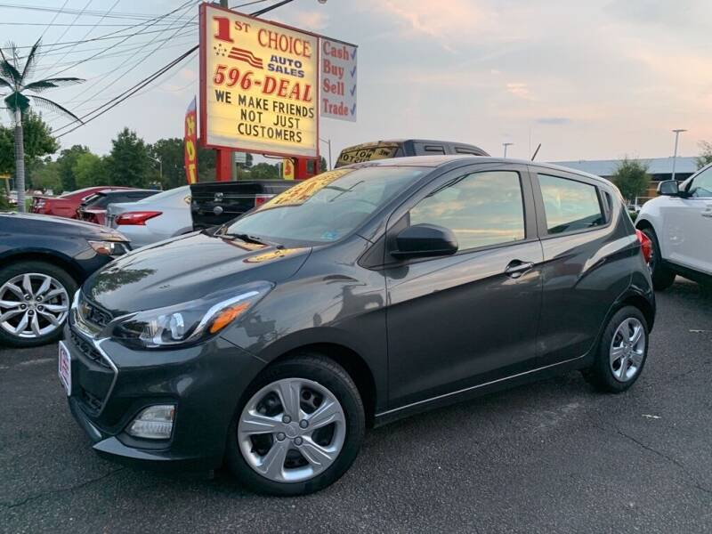 2020 Chevrolet Spark for sale at 1st Choice Auto Sales in Newport News VA