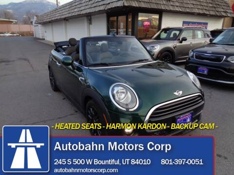 2017 MINI Convertible for sale at Autobahn Motors Corp in Bountiful UT