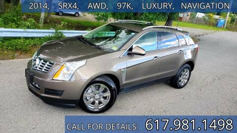 2014 Cadillac SRX for sale at Wheeler Dealer Inc. in Acton MA
