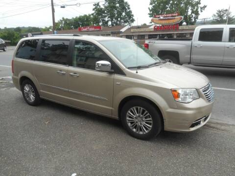 2014 Chrysler Town and Country for sale at Ricciardi Auto Sales in Waterbury CT