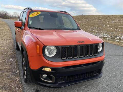 2016 Jeep Renegade for sale at Mr. Car City in Brentwood MD