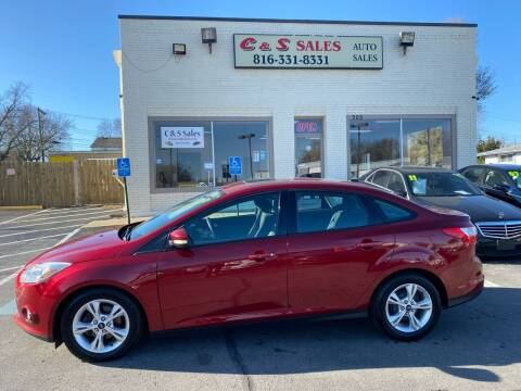 2013 Ford Focus for sale at C & S SALES in Belton MO