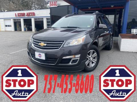 2016 Chevrolet Traverse for sale at 1 Stop Auto in Norfolk VA