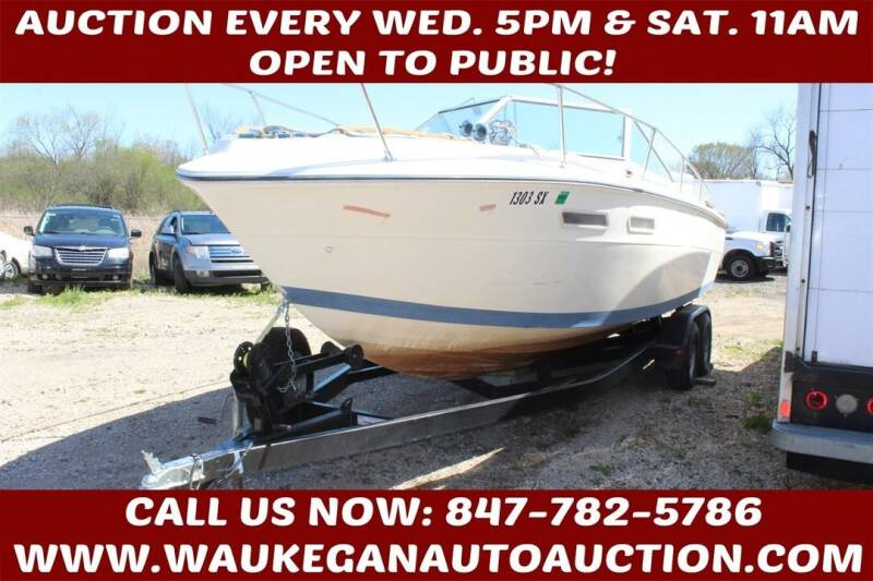 1978 Sea Ray CUDDY for sale at Waukegan Auto Auction in Waukegan IL