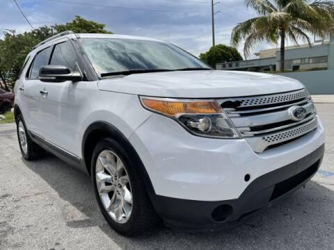 2014 Ford Explorer for sale at Meru Motors in Hollywood FL