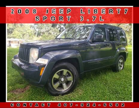 2008 Jeep Liberty for sale at AFFORDABLE ONE LLC in Orlando FL