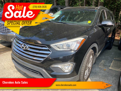 2016 Hyundai Santa Fe for sale at Cherokee Auto Sales in Acworth GA
