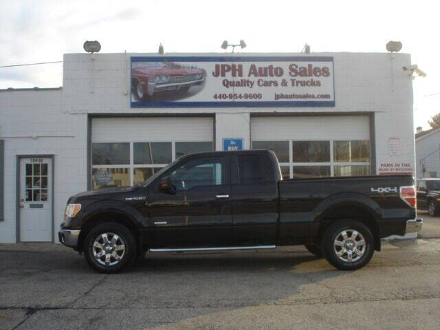 2013 Ford F-150 for sale at JPH Auto Sales in Eastlake OH