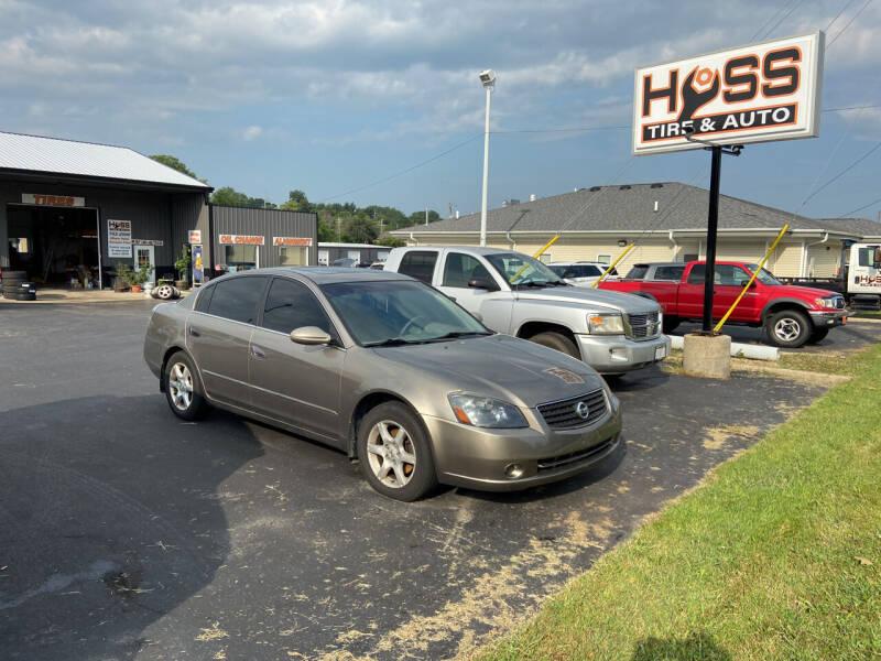 2005 Nissan Altima for sale at Hoss Sage City Motors, Inc in Monticello IL