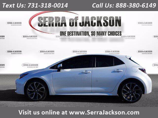 2021 Toyota Corolla Hatchback for sale at Serra Of Jackson in Jackson TN